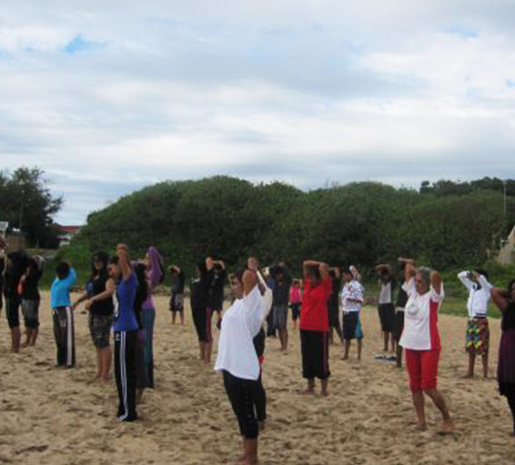Beach-yoga-camp